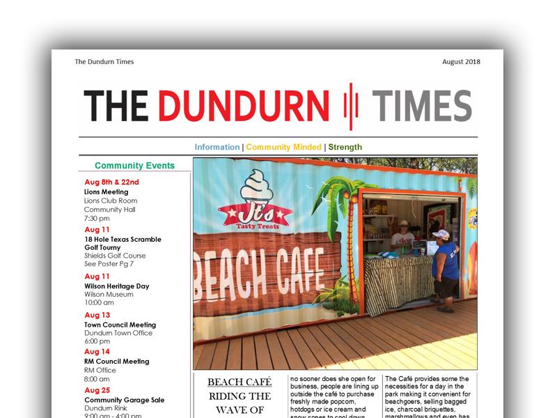 dundurn times newsletter